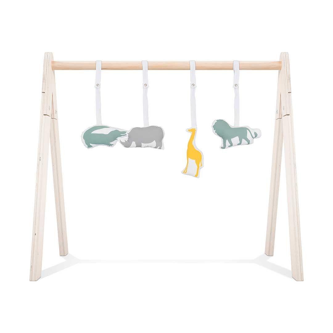 Jollein Babygym toys - Safari (4pcs)