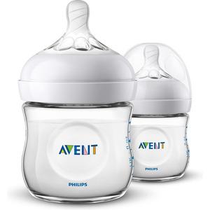 Philips Avent Natural babyfles (0m+) voor langzame toevoer – 2 stuks SCF030/27