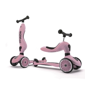 Scoot and Ride Highwaykick 1 Loopfiets / Step - Rose