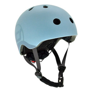 Scoot and Ride Helm S - Steel
