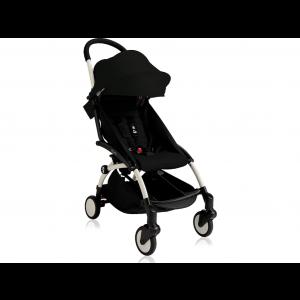 Babyzen YOYO 6+ Buggy - White Frame - Color Pack Black