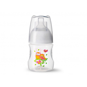 Bibi Happiness Babyfles Play With Us 120ml - Uil