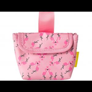 Difrax Fopspeen Tasje - Flamingo