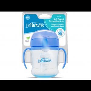 Dr. Brown's Drinkbeker 180ml Blauw