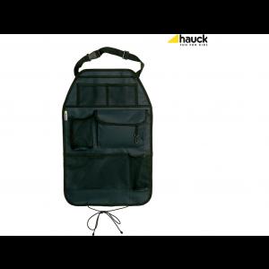 Hauck Cover Me Deluxe Autostoelbeschermer Organizer - Zwart