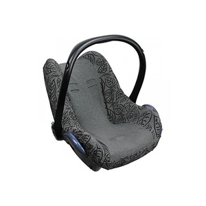 Dooky Seat Cover 0+ Autostoelhoes - Grey Leaves