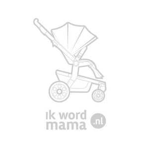 Mutsy Nio North Kinderwagen, frame - Silver, zit en reiswieg - Grey/Stormy Weather