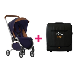Mima Zigi Kinderwagen & Travel Bag - Midnight Blue