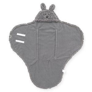 Jollein Wikkeldeken Bunny 100x105cm - Storm Grey