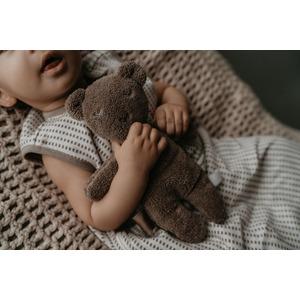 Snoozebaby Organic Billy Bear cuddle - Warm Brown