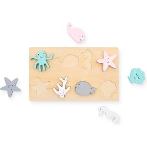 Jollein puzzel hout - Sea animals