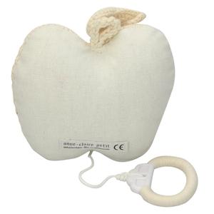 Anne Claire Petit muziekdoosje appel wit
