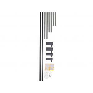BabyDan Premiergate Verlengdeel 14 cm - Wit