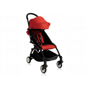 Babyzen YOYO 6+ Buggy - Frame Black - Color Pack Red