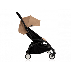 Babyzen YOYO 6+ Buggy - Frame Black - Color Pack Taupe