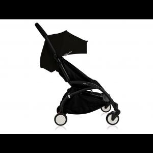 Babyzen Yoyo Kinderwagen Black Frame + Newborn Pack & Color Pack 6+ - Black