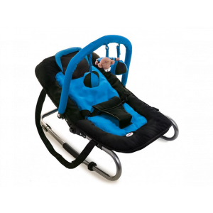 Baninni Wipstoeltje Relax Classic - Black Blue
