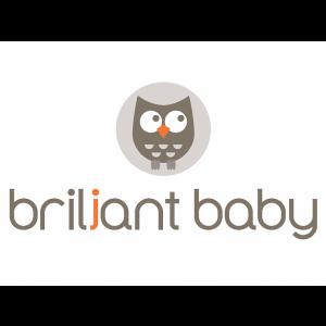 Briljant Baby Autostoelhoes Groep 1+ Met Rugsteun - Grijs