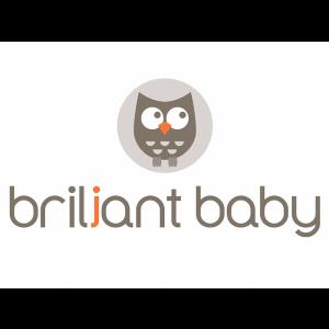 Briljant Baby Hydrofiel Washandjes 3 Stuks - Robin