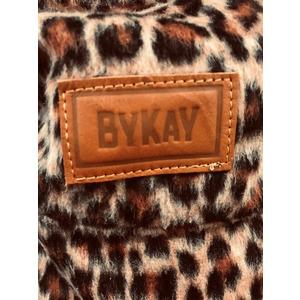 ByKay Click Carrier Classic Draagzak - Furry Leopard Rust