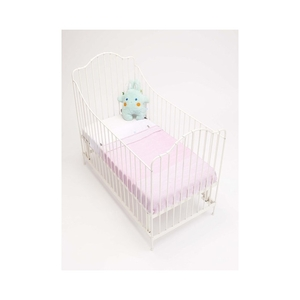 Snoozebaby Cot Blanket stylish cocooning – Powder Pink