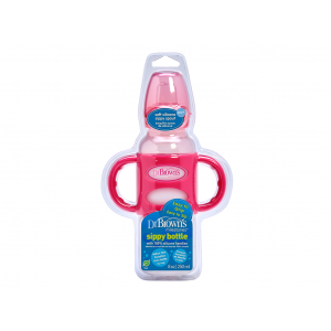 Dr. Brown's Sippy Bottle Roze 250ml