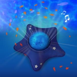 Pabobo Dynamische Muziekprojector Ster - Blue