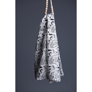 Wee Gallery swaddle wild 122 x 122 cm