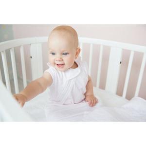 Snoozebaby Crib Blanket stylish cocooning – Orchid Blush