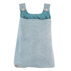 Jollein boxopbergzak Confetti Knit stone groen