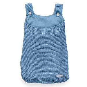 Jollein boxopbergzak Heavy Knit blauw