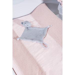 Jollein aankleedkussenhoes Soft Knit roze 50 x 70 cm