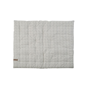 Mies & CO boxkleed stippen gebroken wit 80 x 100 cm