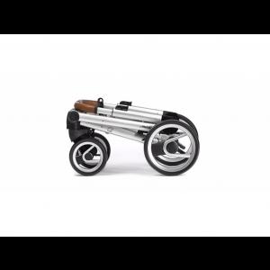 Mutsy I2 Urban Nomad frame - Silver, grip - Cognac