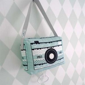 Hip Huisje muziekdoosje fototoestel groen
