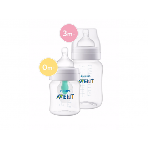 Philips Avent Voedingsfles Anti-Colic 125 + 260 ml
