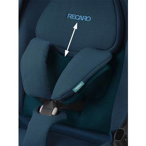 Recaro Sadena/Celona Kinderwagen Zitting - Prime Mat Black