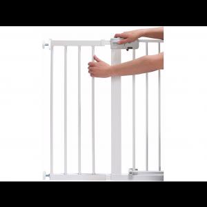 Safety 1st Easy Close Verlengdeel Metaal Wit - 28cm