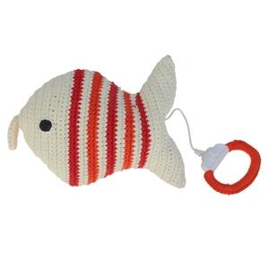 Anne Claire Petit muziekdoosje vis rood