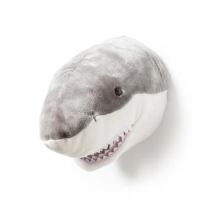 Wild & Soft dierenkop Jack de haai