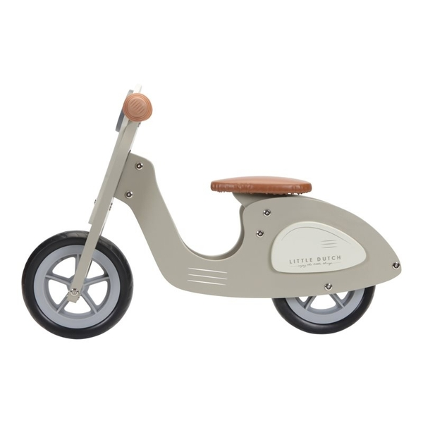 Little Dutch Loopscooter - Olijf