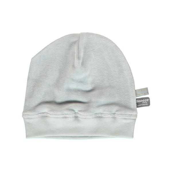 Snoozebaby Hat - Grey Velours