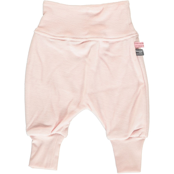 Snoozebaby Baggy Pants Pink Velours - 68