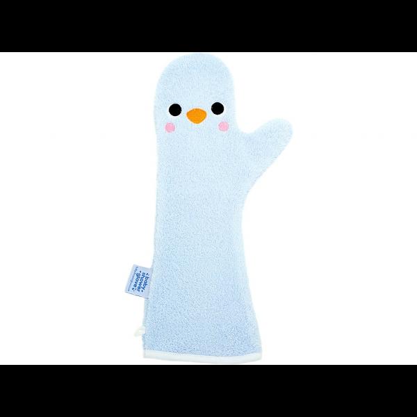 Baby Shower Glove™ - Pinquin - Lichtblauw