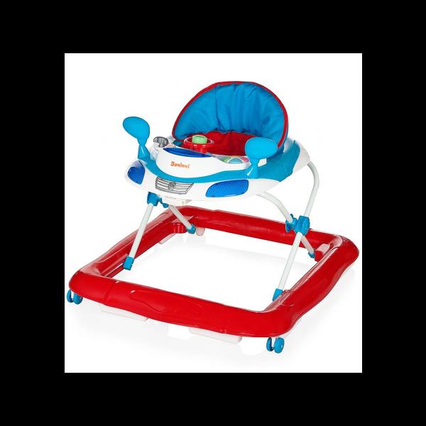 Baninni Loopstoeltje Tontoni - Red Blue