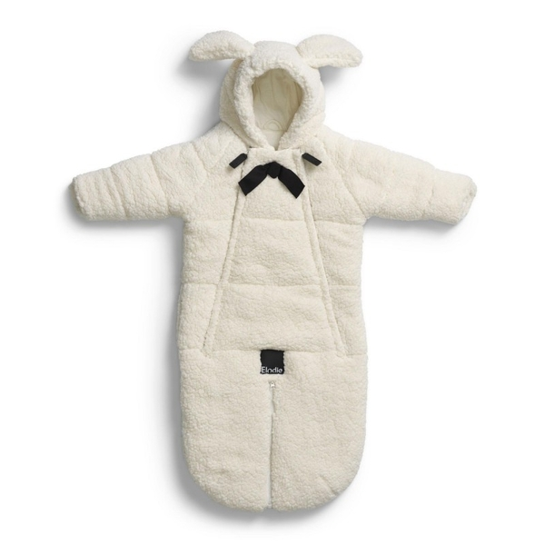 Elodie Details Car Seat Overall — Shearling 0-6m
