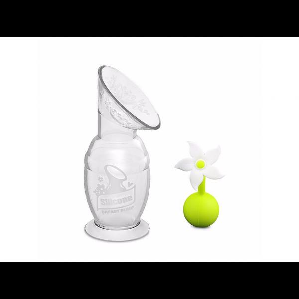 Haakaa Siliconen Borstkolf Set - Handpomp - 150ml