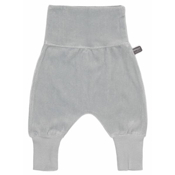 Snoozebaby Baggy Pants Grey Velours - 68