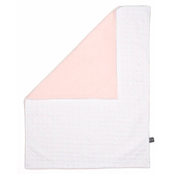 Snoozebaby Cot Blanket stylish cocooning – Orchid Blush