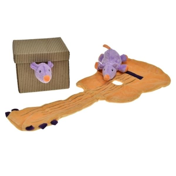 Egmont Toys knuffeldoekje gitaar met muisje